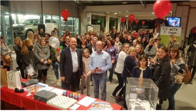 ladiesnight dacia center bredene met alain lynneel