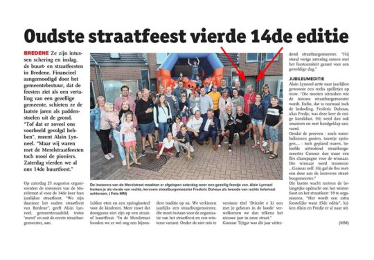 straatfeest 2018 1